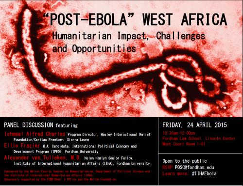 ebola event