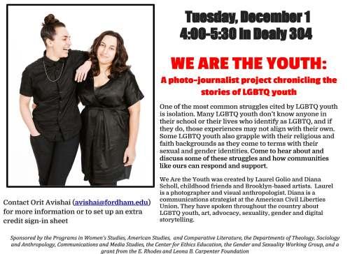 LGBT photo journalist