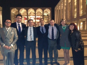 Center for Ethics Education Students, and Assistant Director Dr. Adam Fried