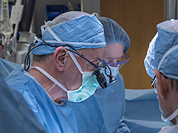 Surgical team behind the first uterus transplant in the United States, via The Cleveland Clinic.