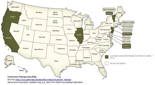 conversion therapy map